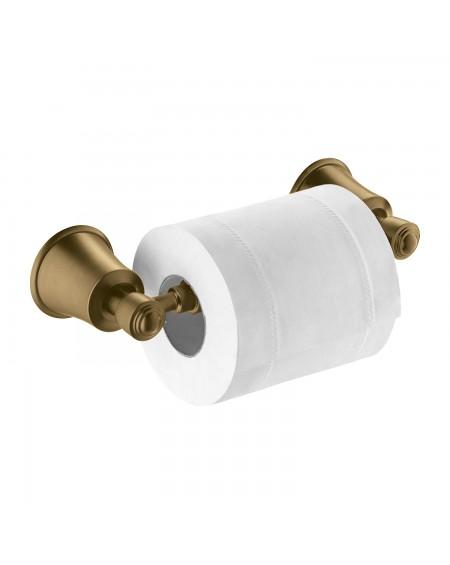 Z Koupelnové doplňky držák toaletního papíru Art Deco starožitná bronz