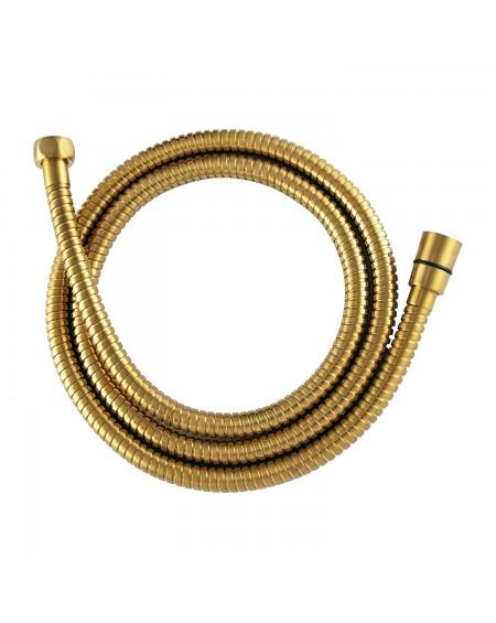 Zlatá polomatná sprchová hadice 150 Contour Gold