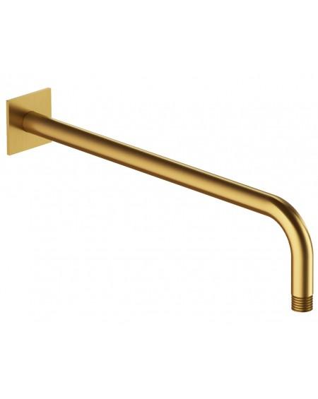 Zlatá polomatná nástěnné sprchové rameno Contour Gold