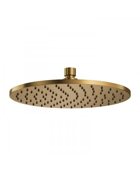 Zlatá broušená horní sprcha 25 Contour Gold