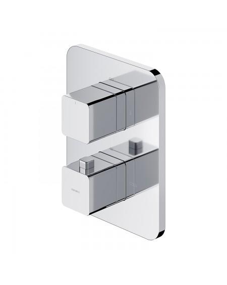 Chromová termostatická podomítková baterie Parma