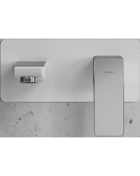 vodovodní umyvadlová oodomítková Parma baterie bílá chrom