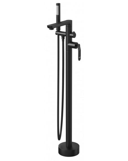 Černá matná vanová volně stojící vodovodní baterie Concepcion 29 Massi