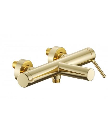 Zlatá vanová sprchová baterie PI Excellent