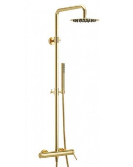 Zlatý sprchový nástěný set PI Excellent