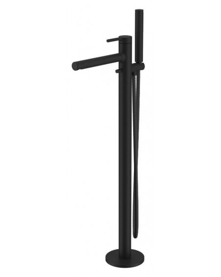 Černá matná vanová voně stojící baterie 3-otvorová PI Excellent