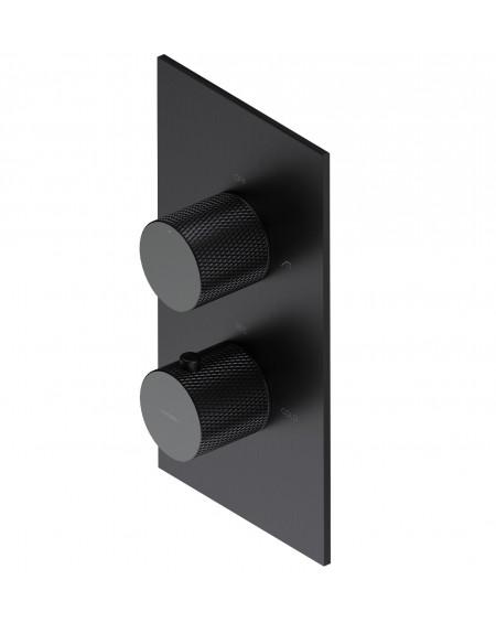 Atracitová vodovodní sprchová podomítková baterie termostatická Contour