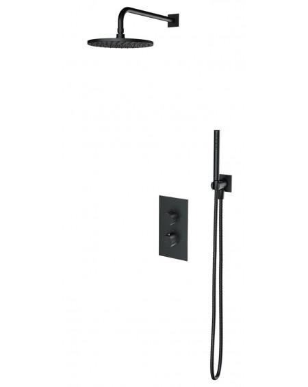 Atracitový sprchový systém termostatický podomítkový Contour