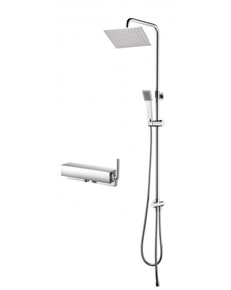 Vodovodní pákový systém sprchový nástěný Cascade