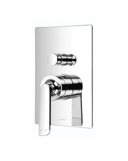 Vodovodní podomítková páková vanová sprchová baterie Cascade