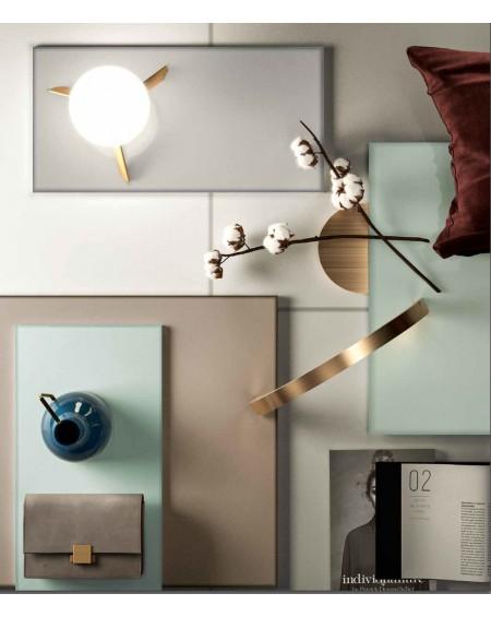 dlažba obklad imitace mléčného skla Veltri naturale 60x60 cm lesk výrobce Refin