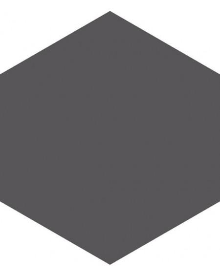 Dlažba hexagon matná graphite 17,5x20,2 cm výrobce Ape ceramica šestihran
