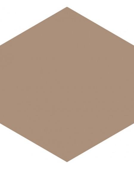 Dlažba hexagon matná earth 17,5x20,2 cm výrobce Ape ceramica šestihran