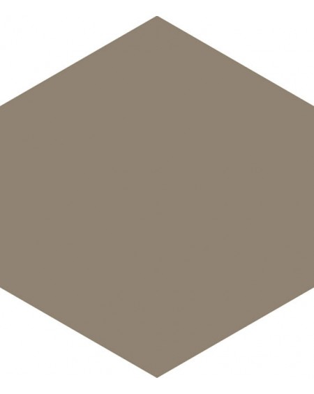 Dlažba hexagon matná tortola 17,5x20,2 cm výrobce Ape ceramica šestihran