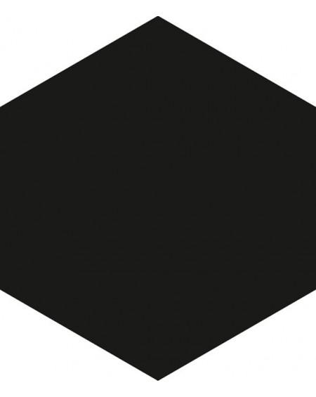 Dlažba hexagon matná negro 17,5x20,2 cm výrobce Ape ceramica šestihran