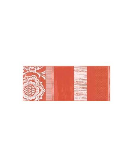 Obklad matný Decoro carta da parati rosso výrobce Gardenia Orchidea / ks