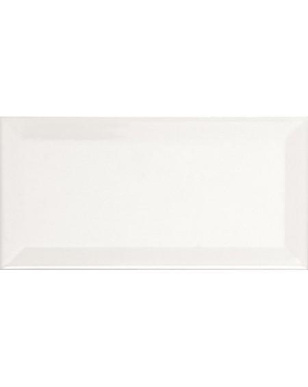 Obklad Metro diamante biselado blanco brilo 10x20 cm výrobce Ape retro zkosené hrany lesk