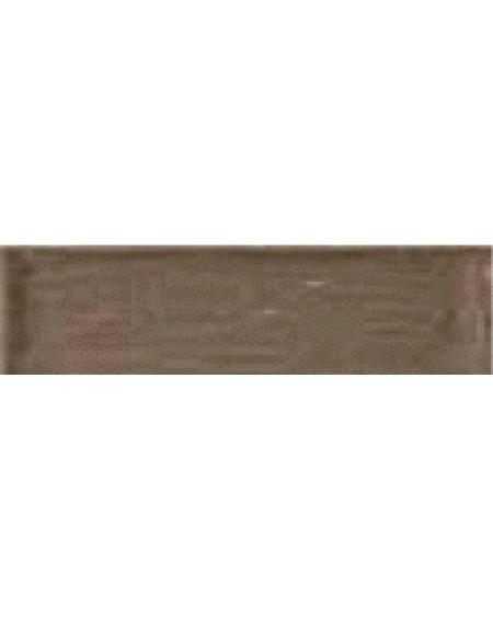 Obklad Belvedere retro tonalite Chocolatte 10x30 cm výrobce Ape ceramica lesk pastelová tmavá kapučíno