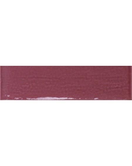 Obklad Belvedere retro tonalite Marrone 10x30 cm výrobce Ape ceramica lesk karmínová světlá