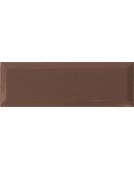 Obklad retro Loft Chocolate 10x30 cm výrobce Ape ceramica tvar briliant povrch lesk