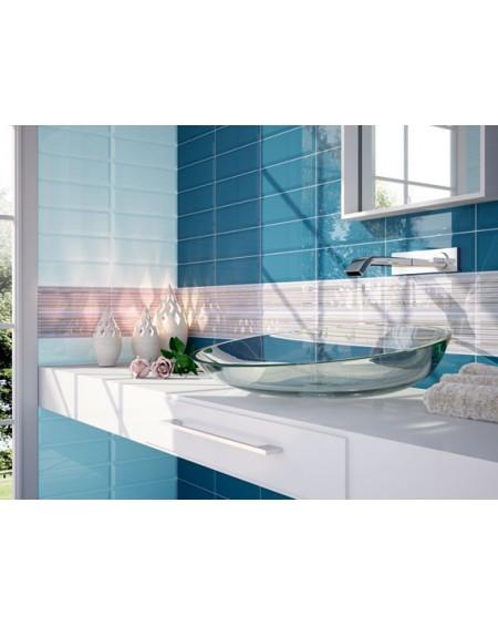 Obklad retro Loft Luna 10x30 cm výrobce Ape ceramica tvar briliant povrch lesk koupelna barva oceán + Piscina