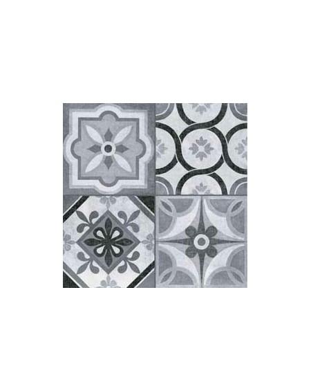Dlažba patchwork retro 45x45cm Heritage Mono lappato Nekalibrováno výrobce Tau lesk