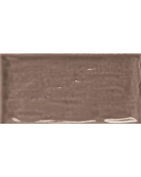 Obklad retro lesk Piemonte chocolate 7,5x15 cm výrobce Ape art deco hnědá