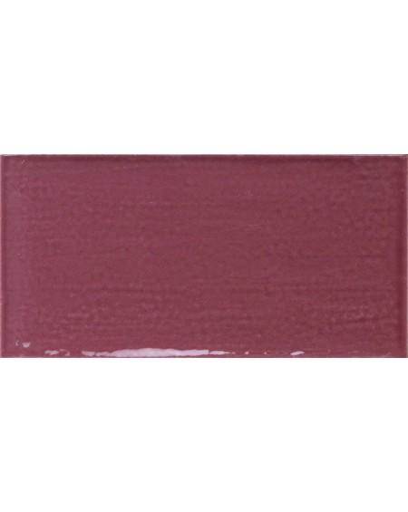 Obklad retro lesk Piemonte maroon - red 7,5x15 cm výrobce Ape art deco karmínová