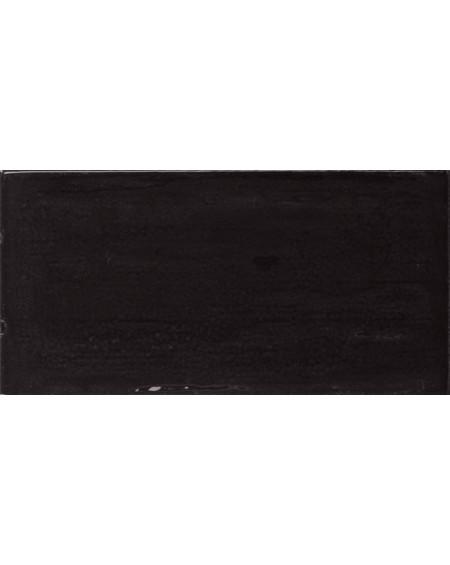 Obklad retro lesk Piemonte black 7,5x15 cm výrobce Ape art deco černá