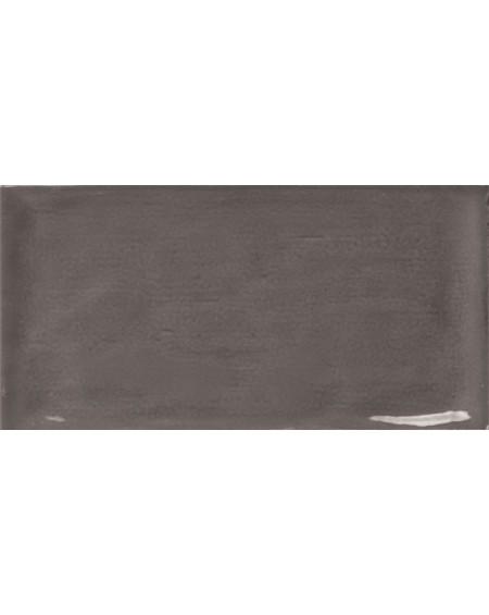 Obklad retro lesk Piemonte graphite 7,5x15 cm výrobce Ape art deco grafit