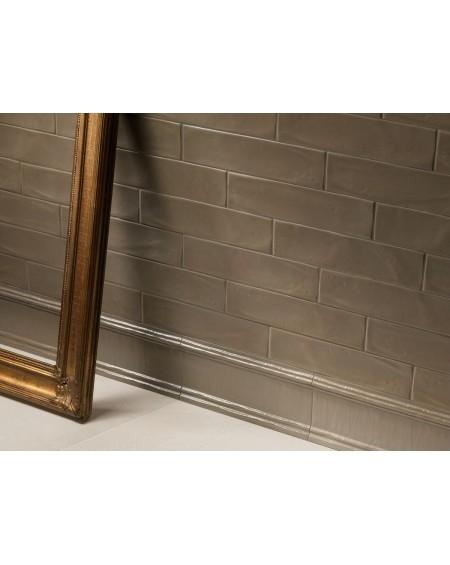 Koupelnové obklady retro 7,x30 cm Hamptons Matt taupe výrobce Settecento It. Matné