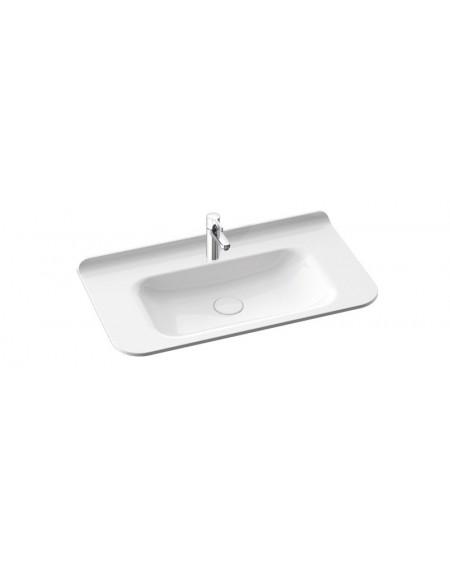Umyvadlo Balta 90x50x17cm materiál Durocoat® litý mramor povrch lesk