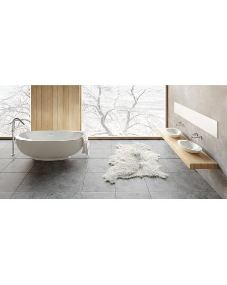 Koupelnový set Amos konglomerát z litého mramoru Durocoat ® vana litý kámen