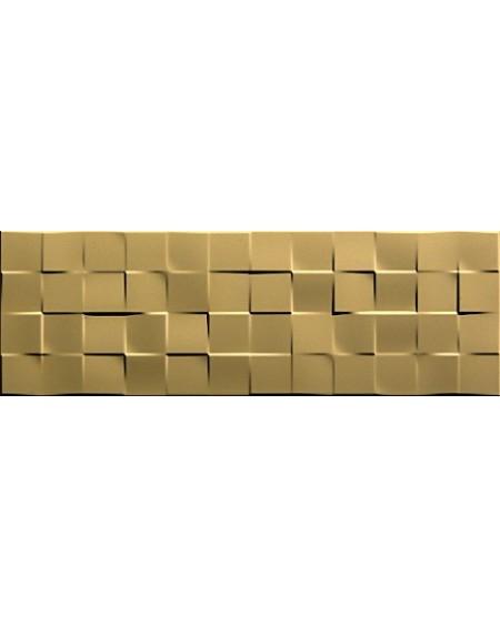 Obklad zlatý Luxury Shine Gold Flag 31,6x95,3 Rtt. Výrobce Aparici koupelny 1/ks