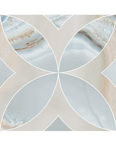 Dlažba imitující drahé kameny A Chalcedon Achát Beyond Rossone turquesa pulido 45x45 cm Rtt výrobce Aparici kalibrováno m2