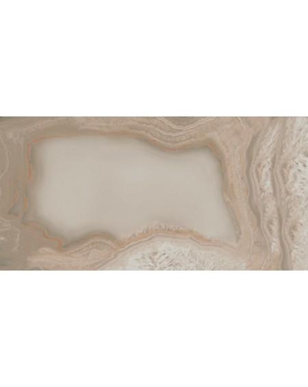 Dlažba imitující drahé kameny B Chalcedon Achát Beyond beige pulido A 60x120 cm Rtt výrobce Aparici kalibrováno vysoký lesk