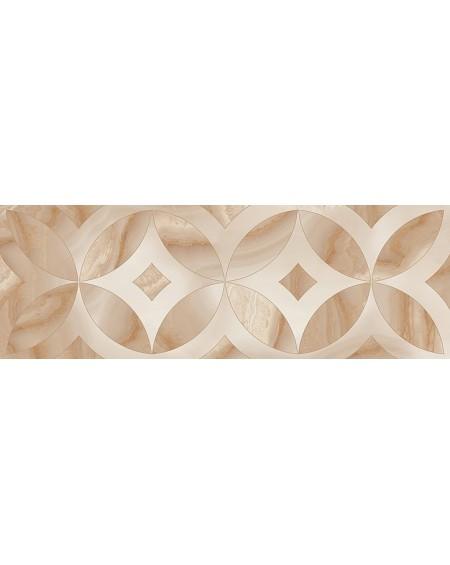 Obklad dekore imitující drahé kameny B Chalcedon Achát Beyond Dekor 1 beige 30x90 cm cm Rtt výrobce Aparici kalibrováno lesk