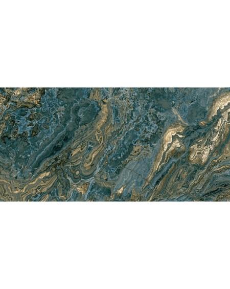 Dlažba obklad imitující mramor B Agate blue 60x120 cm A 1 kalibrováno lappato výrobce Aparici Rtt. Lesk