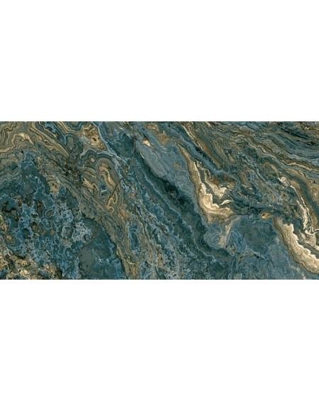 Dlažba obklad imitující mramor B Agate blue 60x120 cm B 1 kalibrováno lappato výrobce Aparici Rtt. Lesk