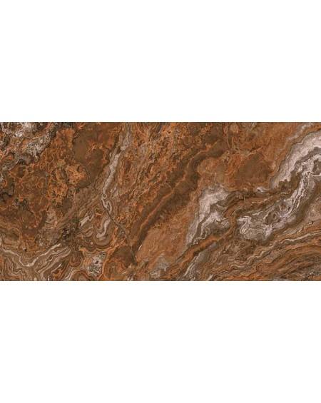 Dlažba obklad imitující mramor B Agate rosso 60x120 cm A 1 kalibrováno lappato výrobce Aparici Rtt. Lesk