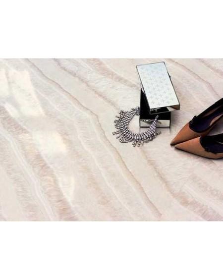 Dlažba imitující opál Reflex Yvory 45x45 cm Rtt. Lpp. Kalibrováno lappato výrobce Aparici lesk