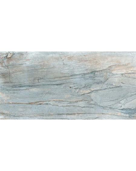 Dlažba imitující mramor Icon Scuba 60x120 cm Rtt. Lappato výrobce La Fabbrica kalibrováno lesk modrý