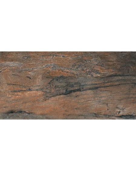 Dlažba imitující mramor Icon Tangerine 60x120 cm Rtt. Lappato výrobce La Fabbrica kalibrováno lesk červený