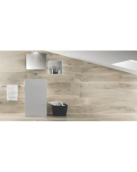 Dlažba obklad imitace dřeva Kauri Catlins 20x120 cm Rtt. Lappato výrobce La Fabbrica kalibrováno dlažba lesklá koupelna