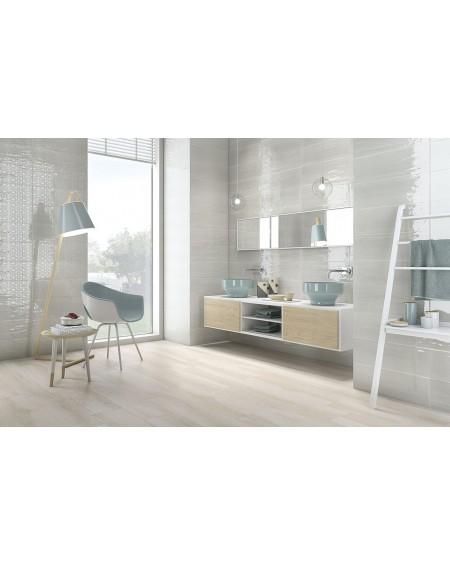 Koupelnový obklad Casa Mayolica Ancona perla 20x60 cm výrobce Pamesa / lesk koupelny