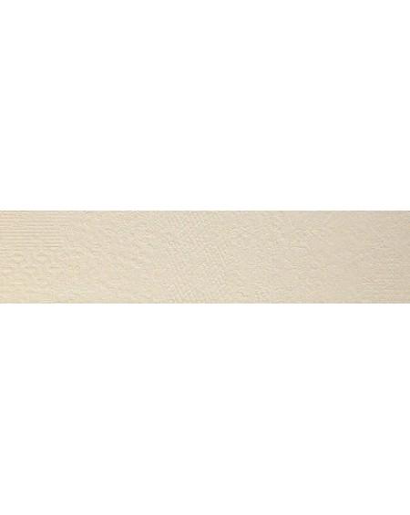 Dlažba obklad imitující beton se vzorem Vision Touch Ecru Vision 20x120 cm Rtt. Lappato výrobce La Fabbrica kalibrováno lesk