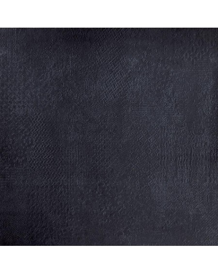 Dlažba obklad imitující beton se vzorem Vision Touch Noir Vision 120x120 cm Rtt. Naturale výrobce La Fabbrica kalibrováno matná
