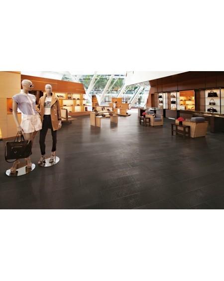 Dlažba obklad imitující beton se vzorem Vision Touch Moka Vision 20x120 cm Rtt. Lappato výrobce La Fabbrica kalibrováno lesk