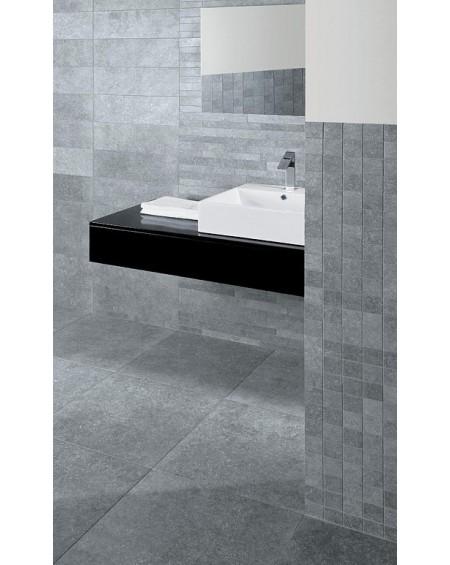 Dlažba obklad imitace kamene Original Blue Greystone 50x50 cm šedý antracit výrobce La Fabbrica matná koupelny