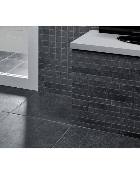 Dlažba obklad imitace kamene Original Blue Blackstone 50x50 cm antracit výrobce La Fabbrica matná koupelny